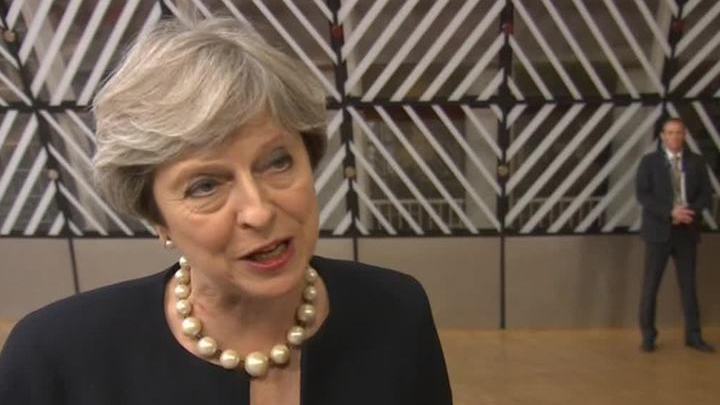 Тереза Мэй разрешила гражданам Евросоюза остаться в Британии после Brexit