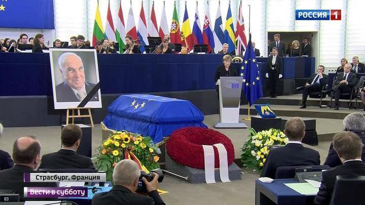 Меркель хотели запретить выступать на церемонии прощания с Колем