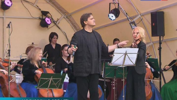 """Светлана Безродная и """"Вивальди-оркестр"""" дали ежегодный летний концерт """"Липовые аллеи"""""""