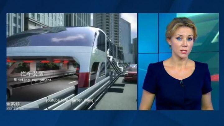 Китайский автобус-тоннель оказался фейком