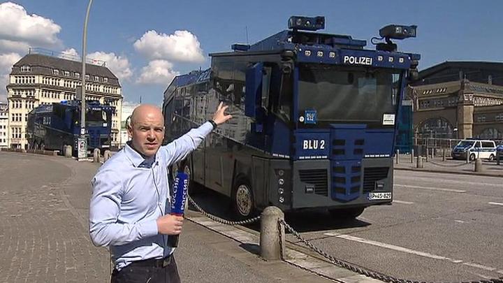 """В Гамбурге перед G20 стартовал """"адский пикник"""""""