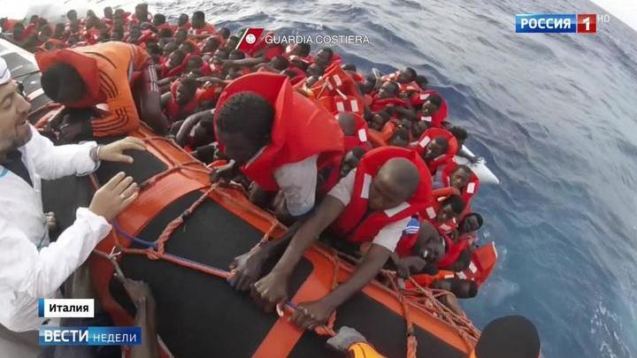 Европа оставила Италию с беженцами один на один
