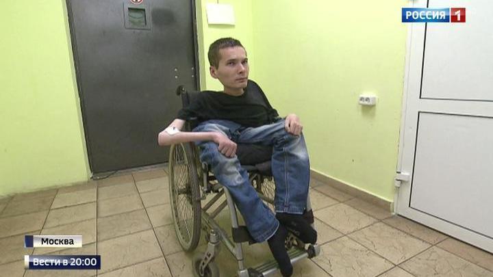 Мать и сын инвалид попасть на телевидение в москву