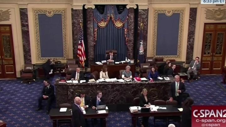 98 из 100: верхняя палата Конгресса США одобрила санкции против России