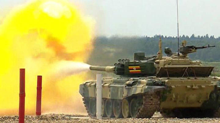 Военная Олимпиада: танковые экипажи вышли на старт