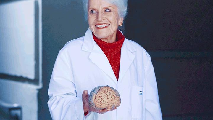 Нейрофизиолог Мариан Даймонд, изучавшая мозг Эйнштейна, ушла из жизни