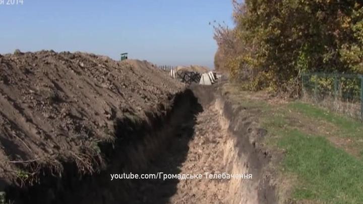 Киеву не хватает денег на разделительную стену на границе с Россией