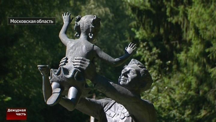 Памятники мытищинского Парка героев не дают покоя ворам
