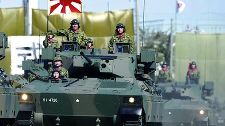"""Бронетанковая техника """"сил самообороны"""" Японии."""