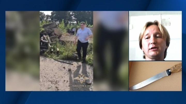 Задержание серийного убийцы с ГАЗа. Видео