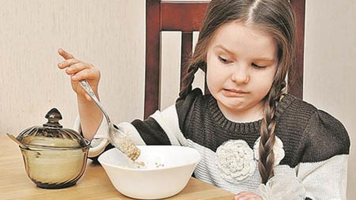 Нежелание завтракать перед школой.