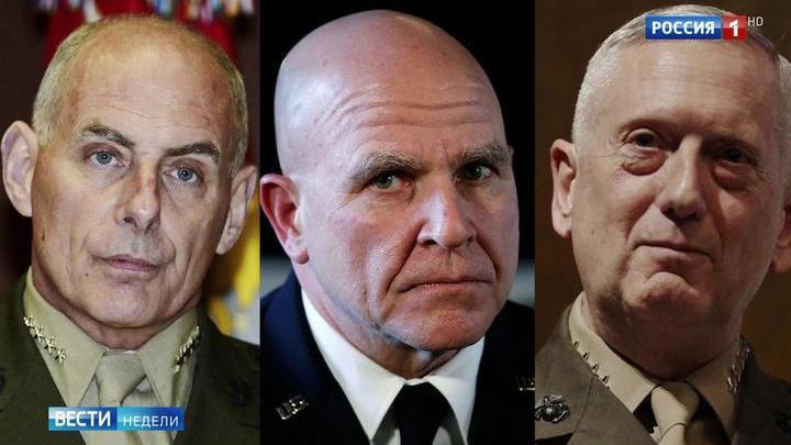 """Тиллерсон """"попал в дурную компанию"""" генералов"""