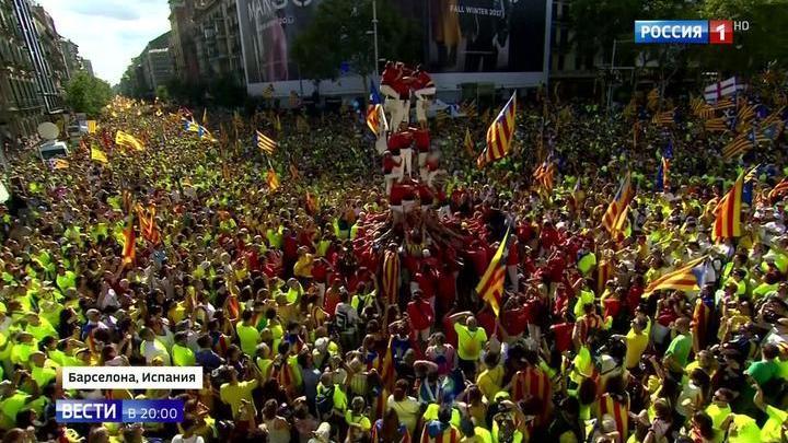 600 тысяч за независимость: Каталония требует отделения от Испании