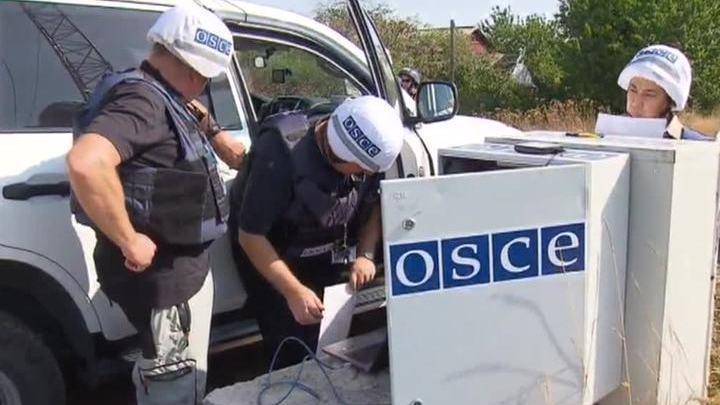 ОБСЕ в Донбассе ждет охраны от миротворцев