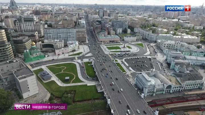 Центр Москвы вернули пешеходам и туристам