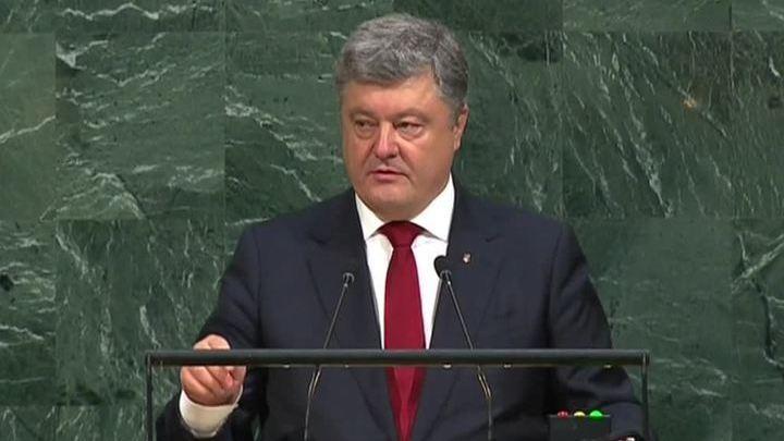Порошенко пытается убедить ООН, что миротворцы должны подчиняться Киеву