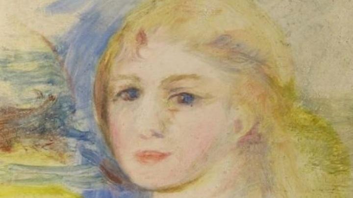 """Похищена картина Пьера Огюста Ренуара. """"Молодая блондинка"""" в розыске!"""