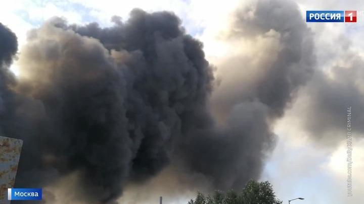"""Роспотребнадзор: показатели воздуха в районе сгоревшей """"Синдики"""" в норме"""