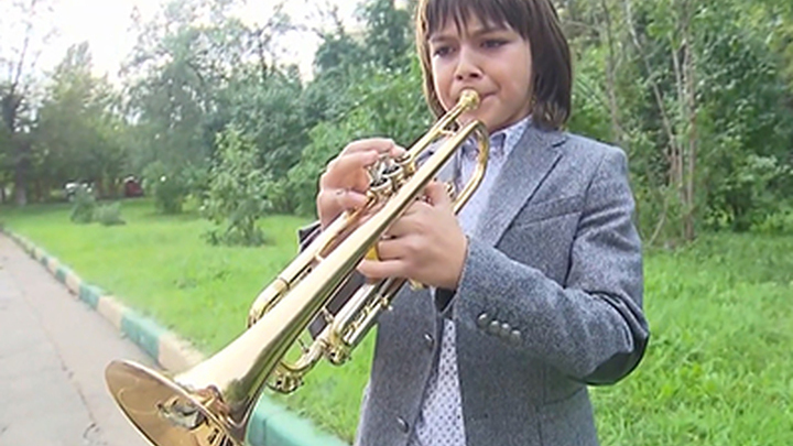 """Ильяс Невретдинов и его волшебная труба. Репортаж программы """"Вести"""""""