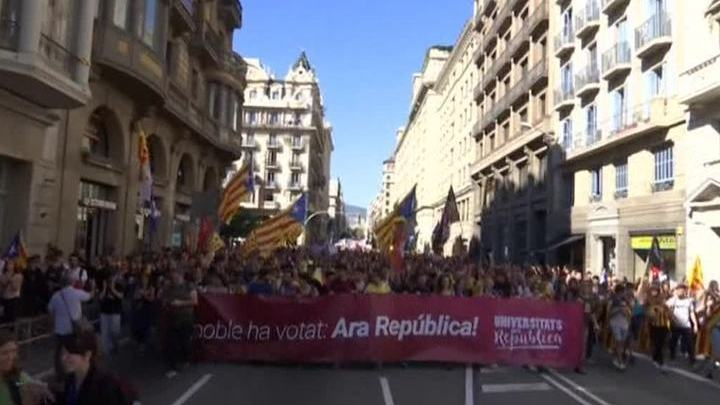 В Мадриде проголосуют по применению 155 статьи конституции к Каталонии