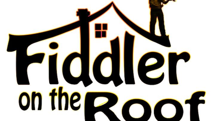 """Постер американского мюзикла """"Скрипач на крыше"""" (""""Fiddler On The Roof """")"""