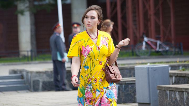"""Дарья Екамасова. Кадр из сериала """"Деньги"""""""