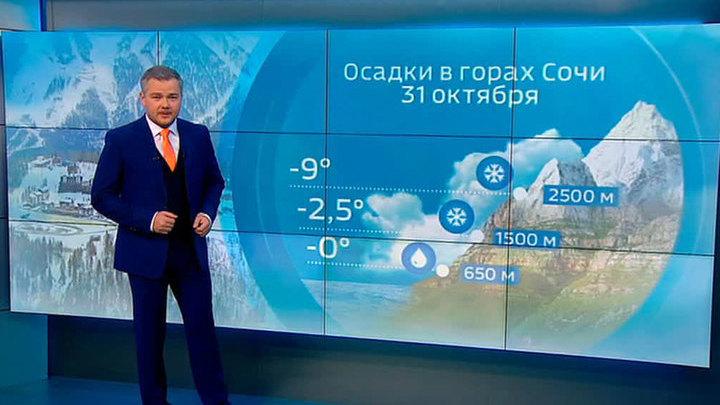 """""""Погода 24"""": циклон """"Геварт"""" принес в Россию ливневые дожди"""