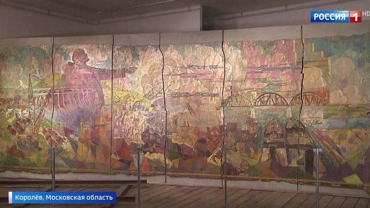 В Королеве спасают уникальную фреску