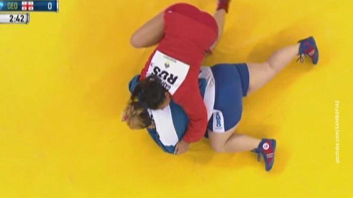 Российские самбисты выиграли 24 медали на чемпионате мира