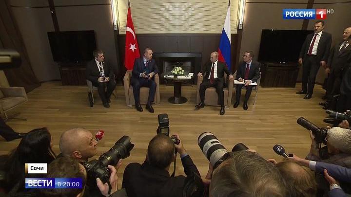 Отношения восстановлены: Путин и Эрдоган обсуждают в Сочи планы на будущее