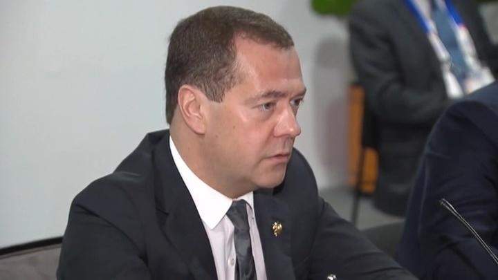 Медведев: мы заинтересованы в мире на Корейском полуострове
