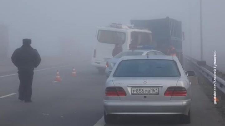 Страшная авария на трассе