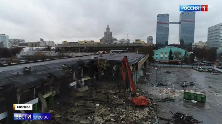 С карты Москвы исчезнет аэровокзал