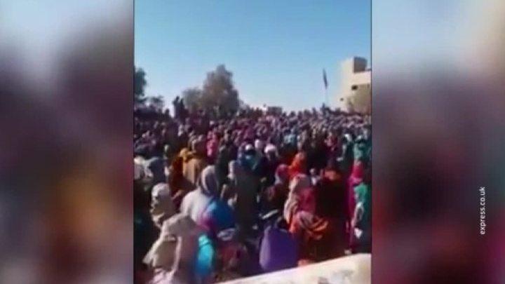 Жители Марокко задавили детей в очереди за едой