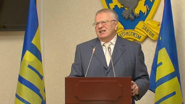 Жириновский выдвинулся на президентские выборы в шестой раз