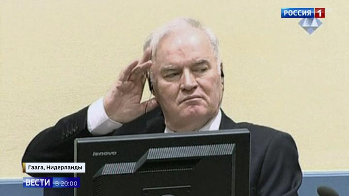Командующего армией боснийских сербов Младича приговорили к пожизненному заключению