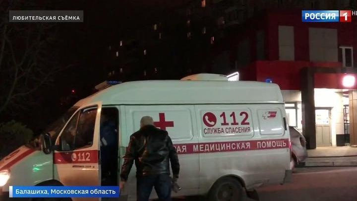 В Балашихе мужчина напал на скорую в ответ на просьбу уступить дорогу. Видео