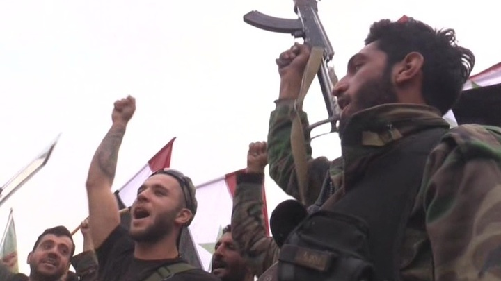 Разгром ИГИЛ в Сирии. Репортаж Евгения Поддубного из Абу-Кемаля