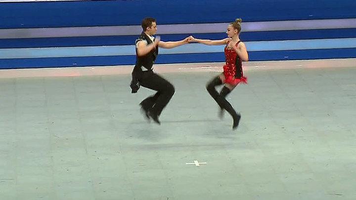 """""""Танцуй, Россия!"""": 5 золотых медалей по акробатическому рок-н-роллу"""