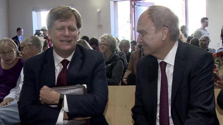 Макфол заявил, что любит Россию и скучает