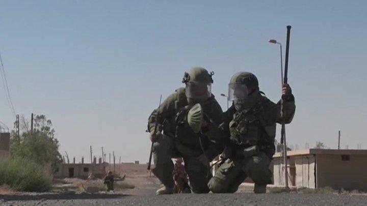 Российские саперы разминировали более двух тысяч домов в Дейр-эз-Зоре