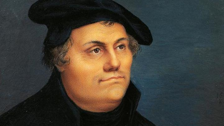 Мартин Лютер,  немецкий реформатор родился в ноябре 1483 г. в Эйслебене, главном городе тогдашнего графства Мансфельд в Саксонии
