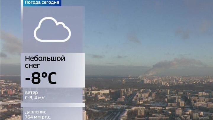 Вести.Ru: Резкий скачок атмосферного давления зафиксирован в столице