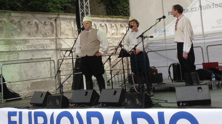 "Группа ""Рада""  на 38-м фолк-фестивале Еврорадио"