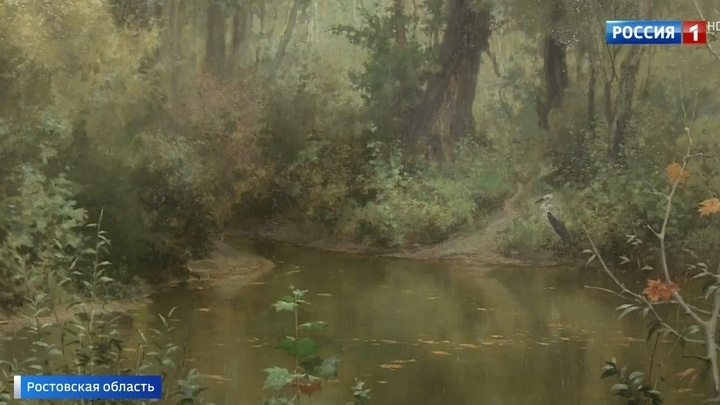 Возвращенная на родину картина Василия Поленова выставлена в Таганроге