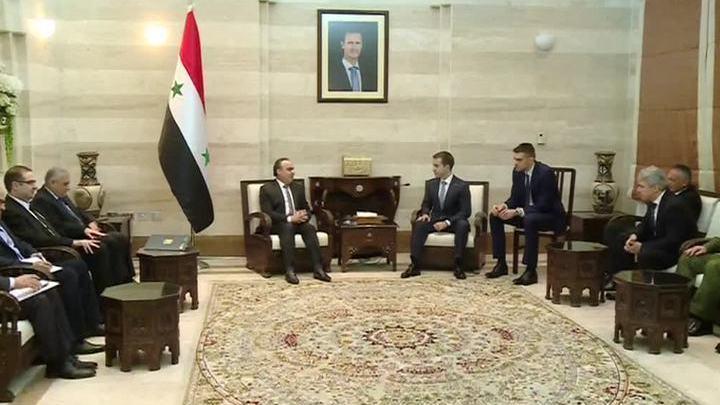 Россия поможет Сирии в сфере коммуникаций и информтехнологий
