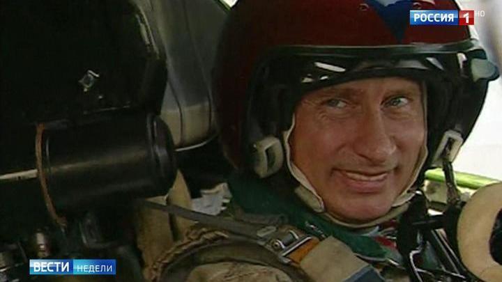 "Путин рассказал о полете на ""Белом лебеде"""