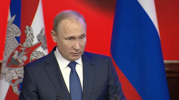 Путин призвал честно проанализировать опыт российской армии в Сирии