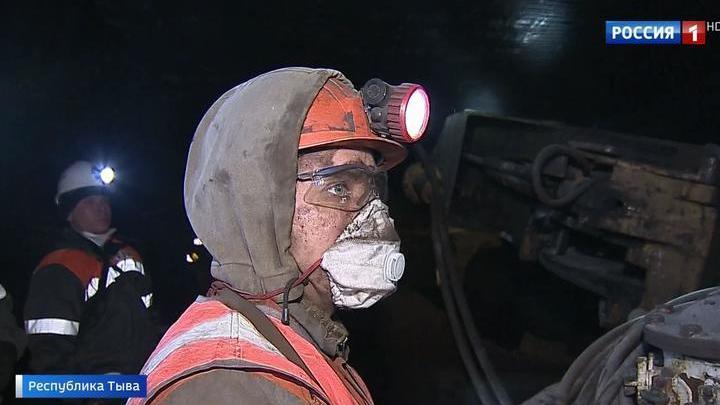 В Туве поставили рекорд выработки угля