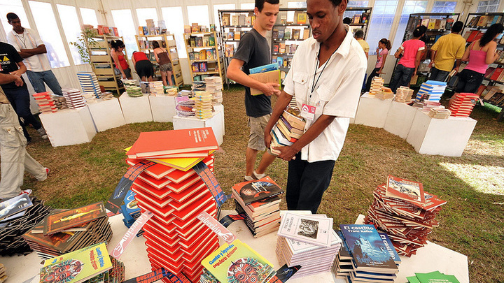 На книжной ярмарке в Гаване открылся российский павильон